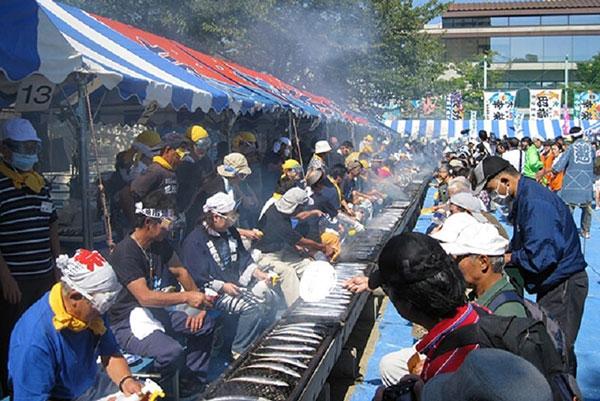 Lễ hội cá mùa thu tại Nhật