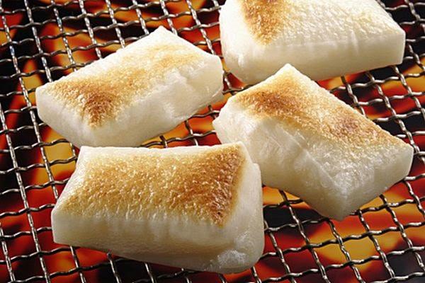 Bánh Mochi nướng