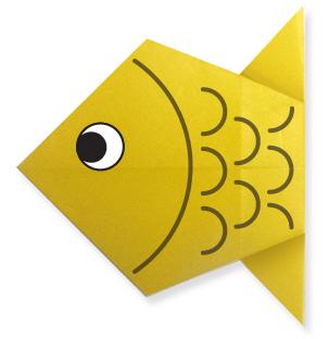 Gấp hình con cá