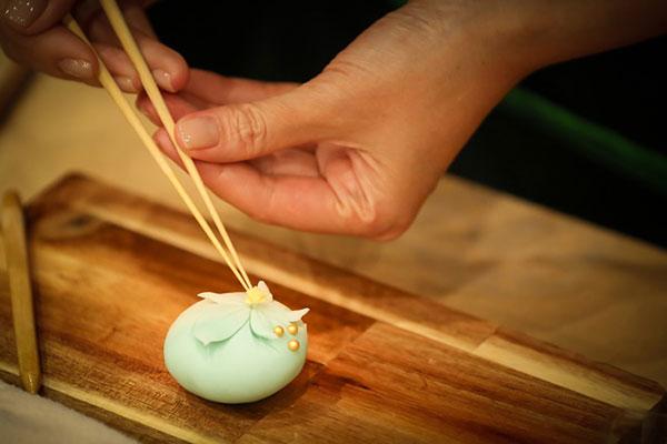 Cách làm bánh Wagashi