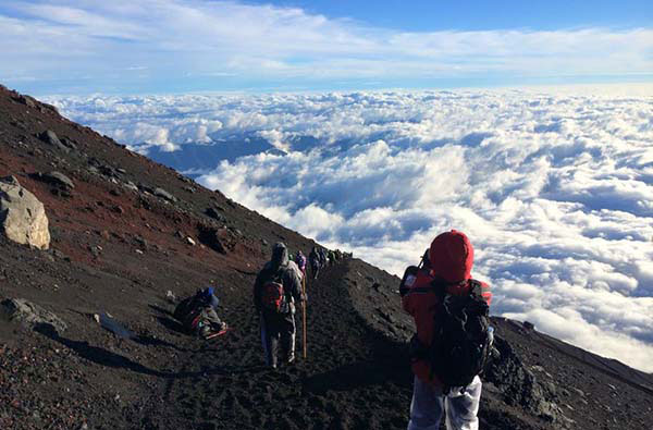 kinh nghiệm chinh phục núi phú sĩ