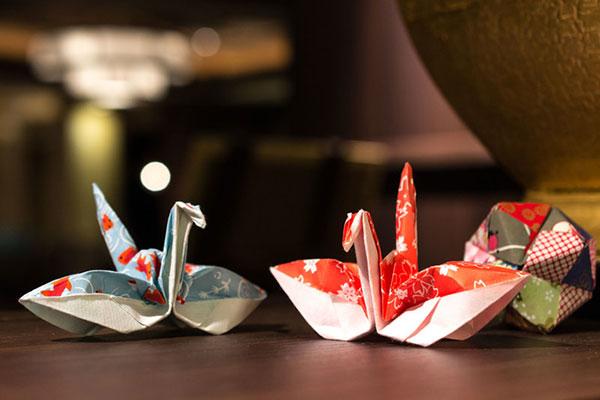 nghệ thuật xếp giấy origami