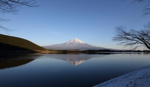 hồ nước quanh núi phú sĩ