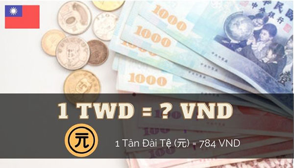 Bảng Tỷ giá Đài tệ Đài Loan quy đổi sang tiền Việt