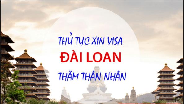 visa Đài Loan đi thăm hỏi người thân